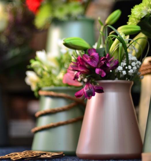 Pearl StemGem Table Vase