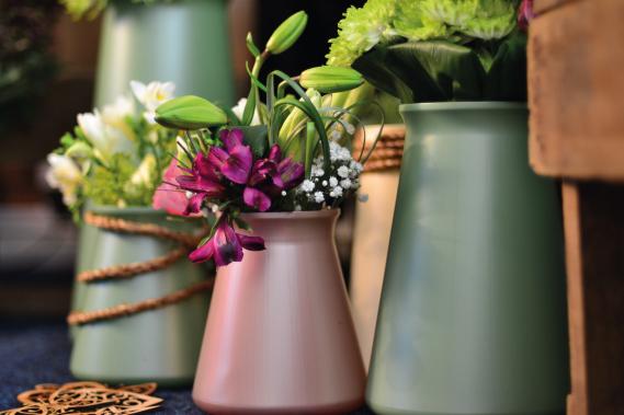 StemGem Anniversary Vase