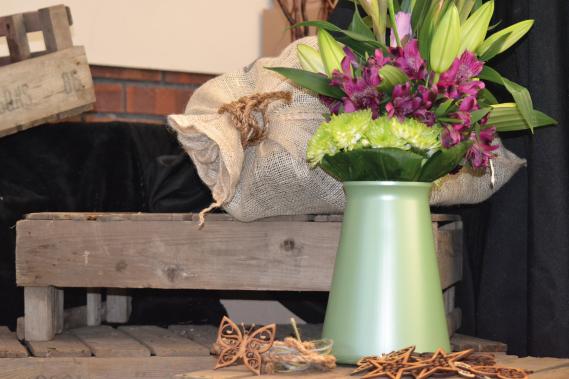 StemGem Sage Green Aqua Vase