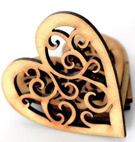 StemGem Wooden Heart shape