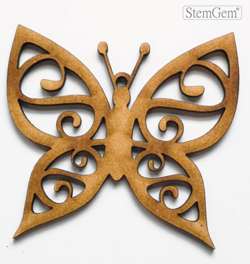 StemGem Butterfly wooden shape