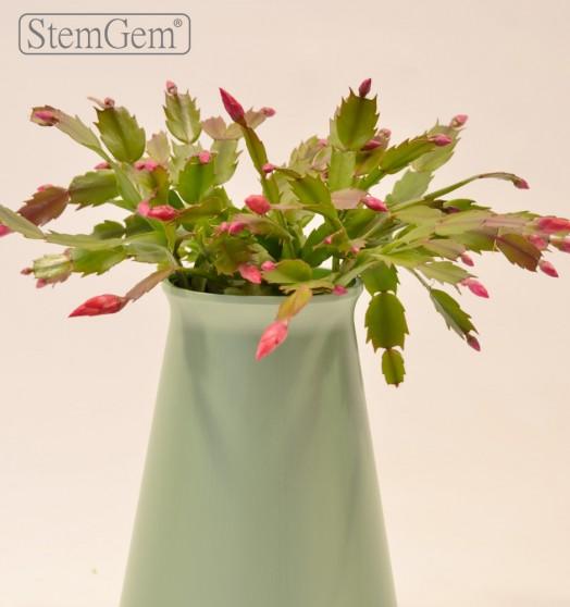 Sage StemGem Aqua Vase