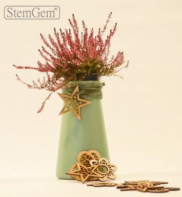Green Posie StemGem Vase