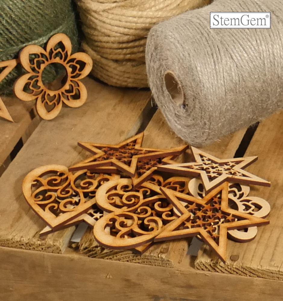 Mixed Wooden Shapes