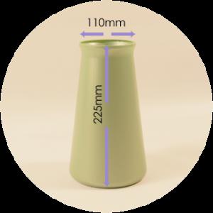 StemGem Green Aqua Vase
