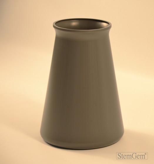 StemGem Grey Aqua Vase