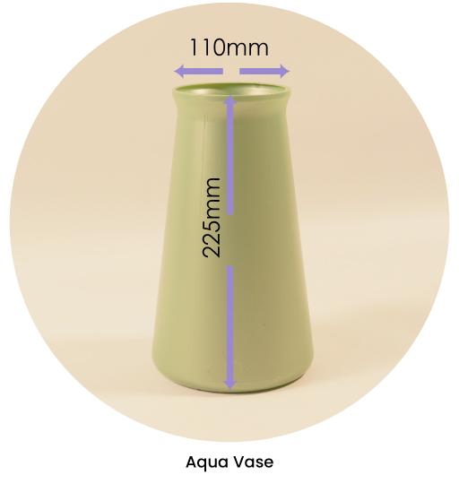 Aqua Vase Dimensions