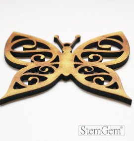 Butterfly wooden shape