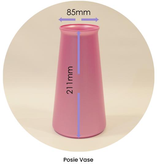 Posie Vase Dimensions