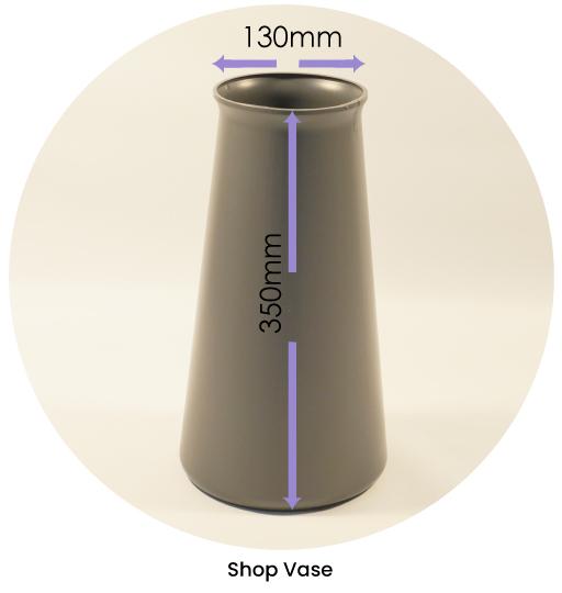 Shop Vase Dimensions