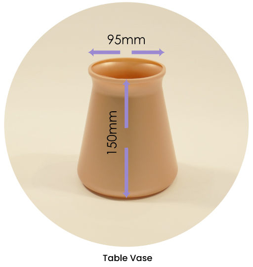 Table Vase Dimensions