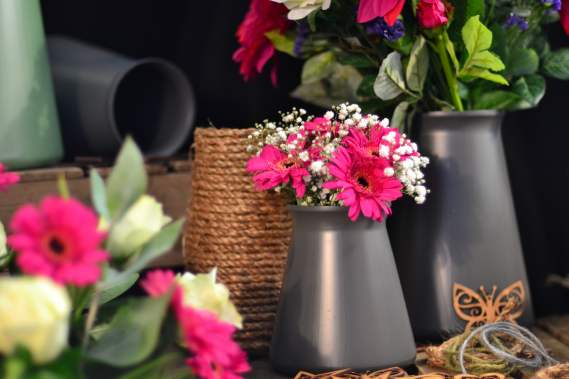 StemGem Vases for funerals