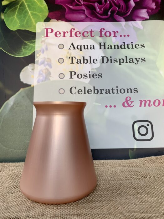 Rose Gold StemGem® Table Vase