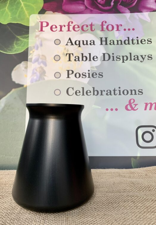 Black StemGem® Table Vase