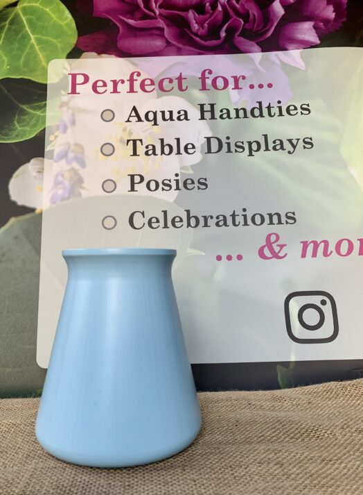 Baby Blue StemGem® Table Vase
