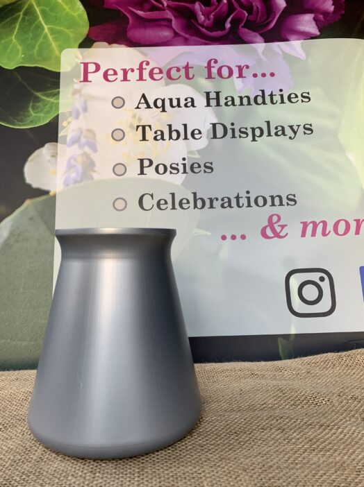 Silver StemGem® Table Vase