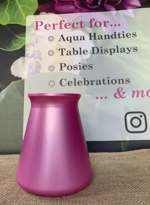 Pink StemGem® Table Vase
