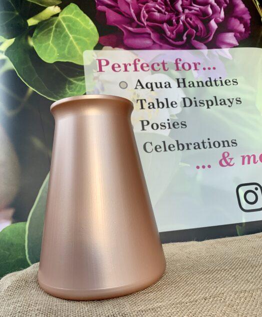 Rose Gold StemGem® Aqua Vase