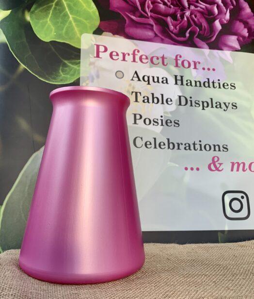 Pink StemGem® Aqua Vase