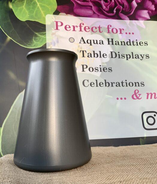 Grey StemGem® Aqua Vase