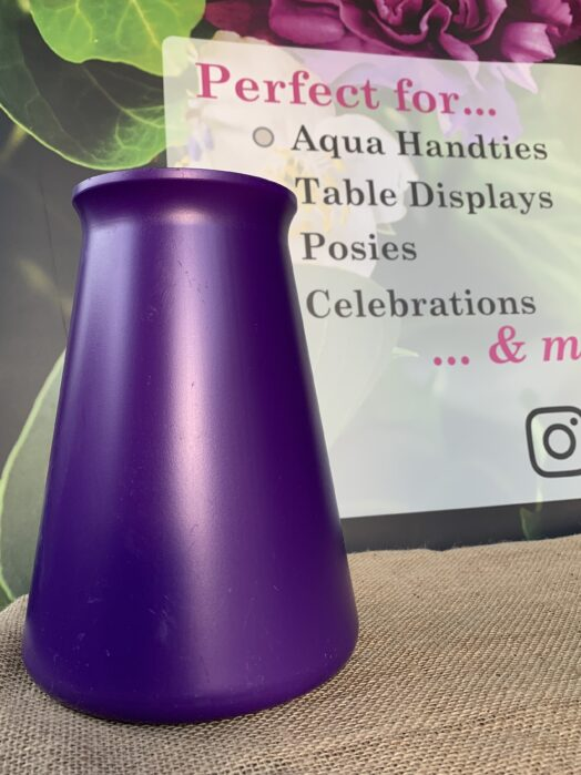 Purple StemGem® Aqua Vase