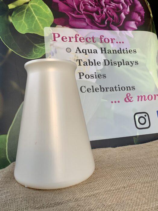 Pearl StemGem® Aqua Vase
