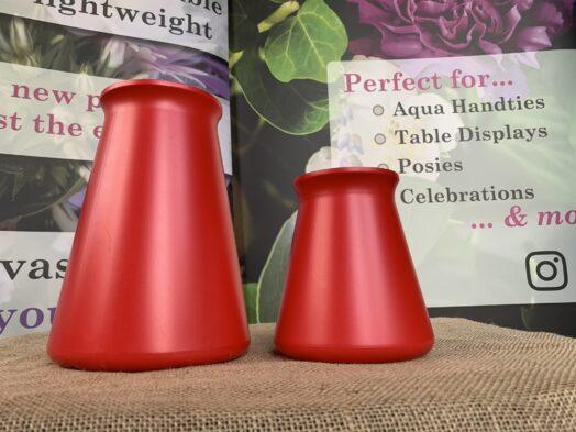 Red StemGem® Aqua & Table Vase